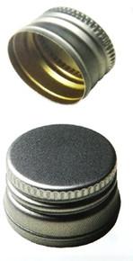 Schraubverschluss silber PP 18