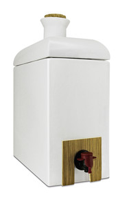 Keramikamphore Creme für Speiseöle